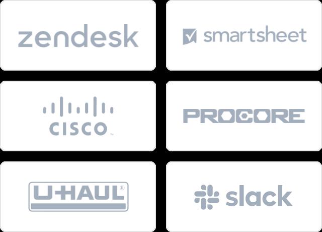 demo social proof logos mobile
